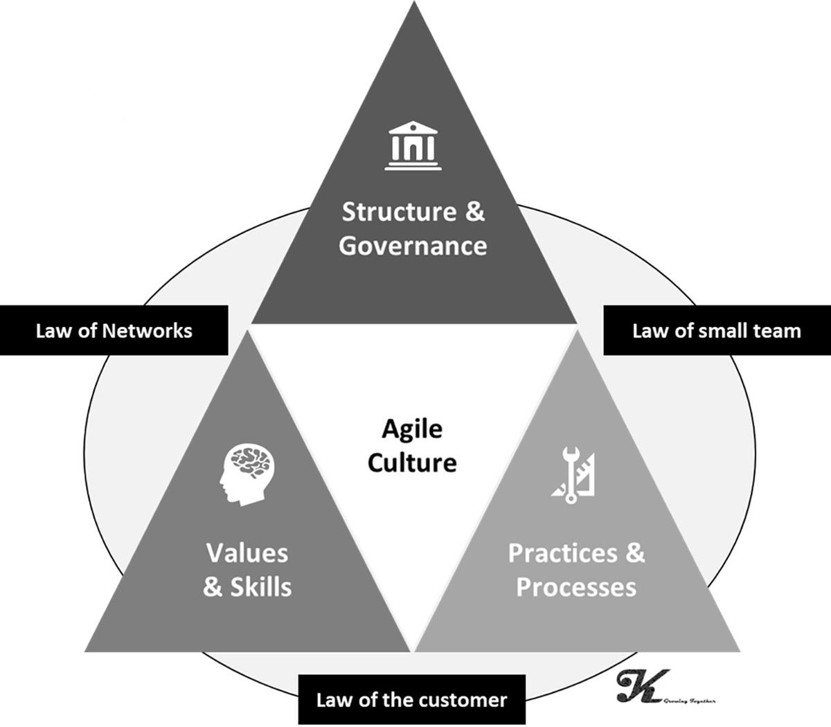 Agile için sanki bir kültür ön-şartı Engage&Grow