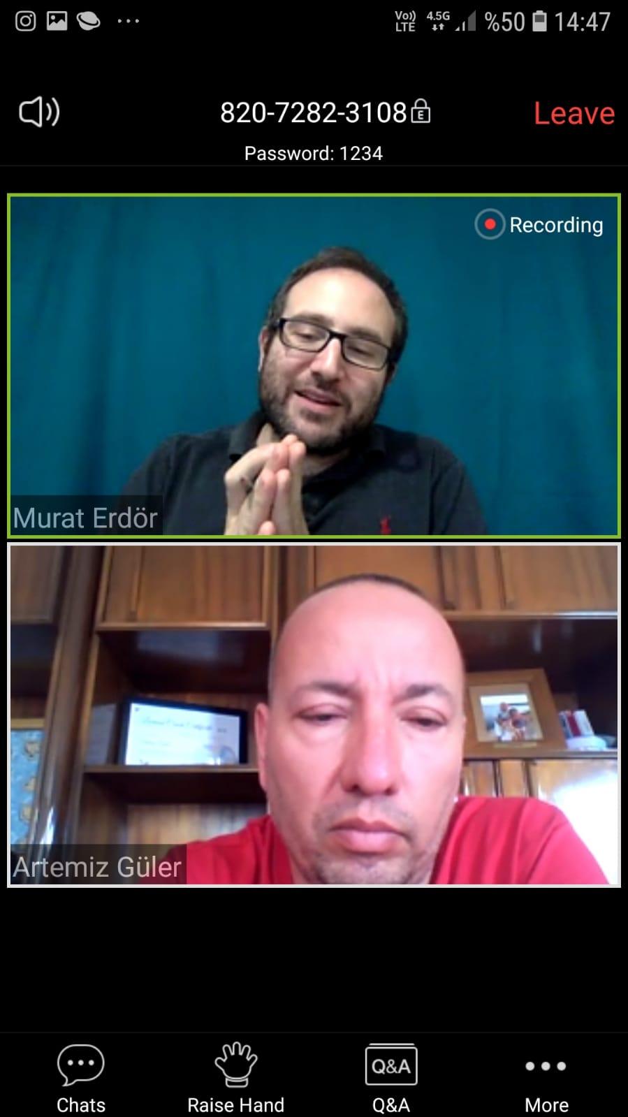 """Networking alanındaki uzmanlardan, arkadaşım Murat Erdör'ün #faydalisohbetler 01 Mayıs 2020 14:00' """"Korona Döneminde Çalışan Bağlılığı"""""""